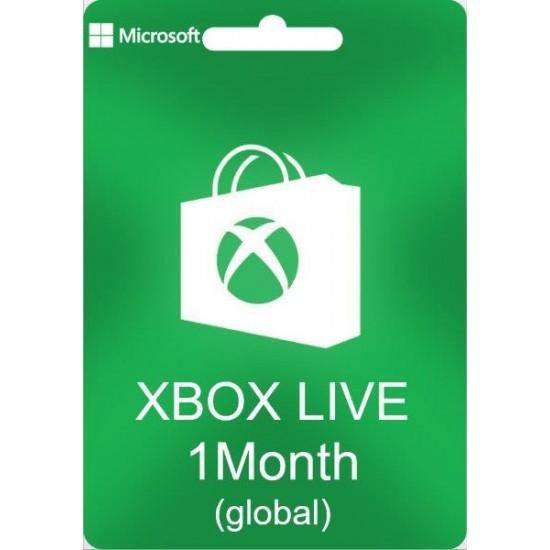 Xbox Live 1 Month Gold Membership