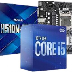 BUNDLE MB ASROCK H510 + CPU INTEL I5 10400F