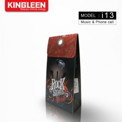 earphone rock stereo kingleen i13