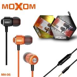 earphone moxom metal bass mh-06